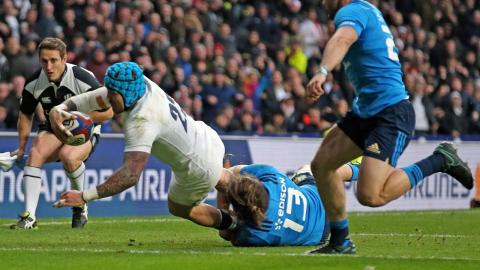 Nowell scores fantastic team try in the corner | RBS 6 Nations