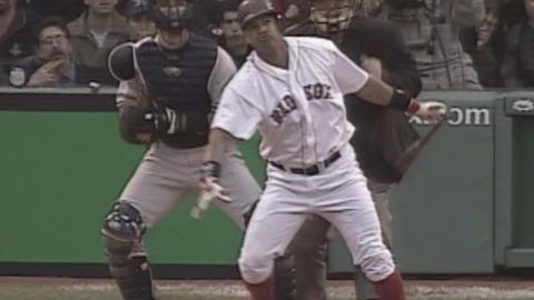 2003 ALCS Gm5: Ramirez hits a solo homer off Wells