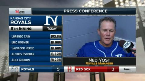 KC@BOS: Ned Yost discusses win vs. the Red Sox
