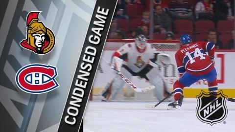 02/04/18 Condensed Game: Senators @ Canadiens