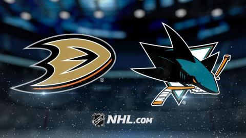 Berra, Vermette lead Ducks past Sharks in SO, 3-2