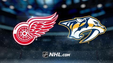 Witkowski, Mrazek lead Red Wings past Predators, 3-1