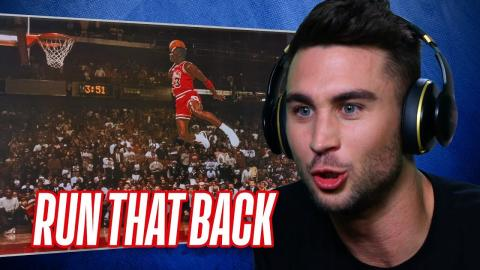 YouTubers React To Vintage NBA Slam Dunk Contests