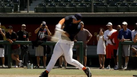 Tebow works out for scouts, talks love for baseball