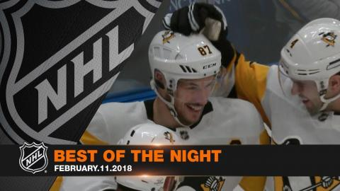 Crosby's 400th goal, robotic hand puck drop take center stage