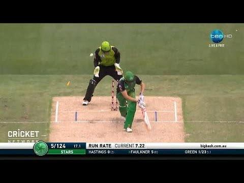 Melbourne Stars v Sydney Thunder, BBL|07