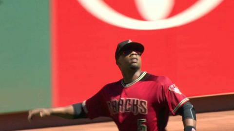 ARI@SF: Weeks Jr. fights the sun to snare a liner