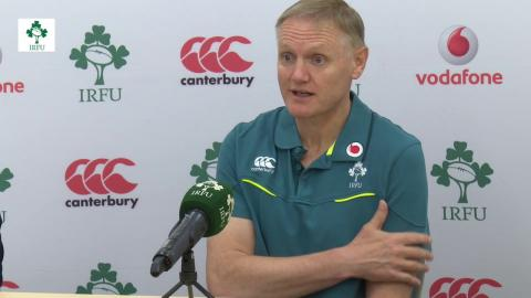 Irish Rugby TV: Ireland Team Announcement Press Conference Ahead Of Second Test