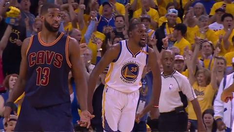 MVP Duel: Kevin Durant's 38 Beats LeBron James' 28 In NBA Finals 2017 Game 1