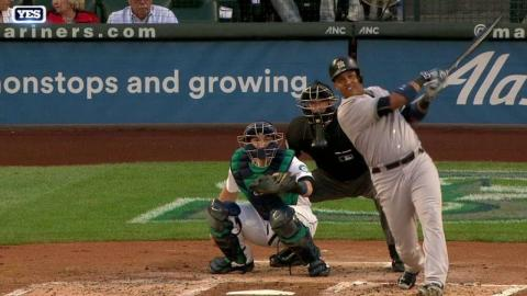 NYY@SEA: Castro tees off on a ball for a solo jack