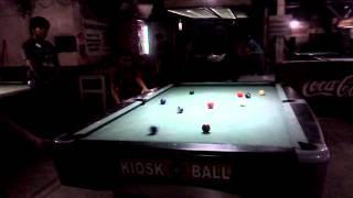 Rj Playing Billiards