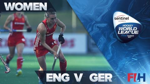 England v Germany Match Highlights - Sentinel Homes Hockey World League Final   Auckland, New Zealan