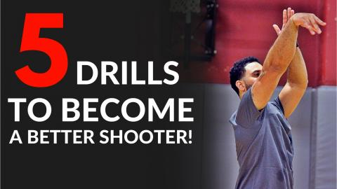 5 Drills To Shoot A Basketball Better! Shoot Like A Pro Series (WEEK 3)