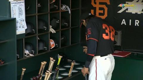 SD@SF: Morse gives his bats a pep talk