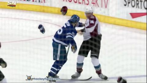 Nikita Zadorov vs Matt Martin Dec 11, 2016