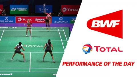 Performance Of The Day | Badminton Day 3 Grp 1D – INA vs IND- TOTAL BWF Sudirman Cup 2017