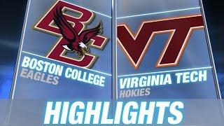 Boston College Vs Virginia Tech - May 1 | 2015 ACC Baseball Highlights