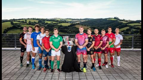 """Irish Rugby TV:Billy Dardis """"nervous and excited"""" ahead of the Exeter 7s"""