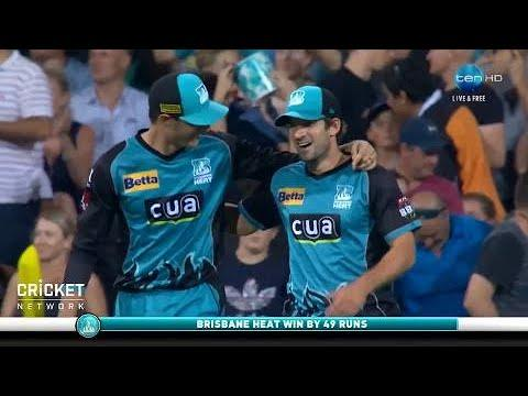 Brisbane Heat v Perth Scorchers, BBL|07
