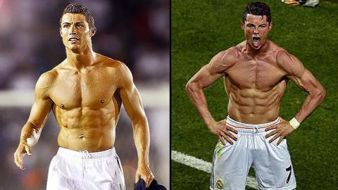 Top 7 - Best Exercises to get a Body Like Cristiano Ronaldo (Workout)