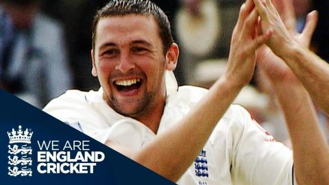 Steve Harmison Takes 5-43 On First Day Of 2005 Ashes at Lord's - Full Highlights