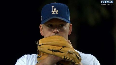 NLCS Gm3: Blanton strikes out Heyward in the 7th