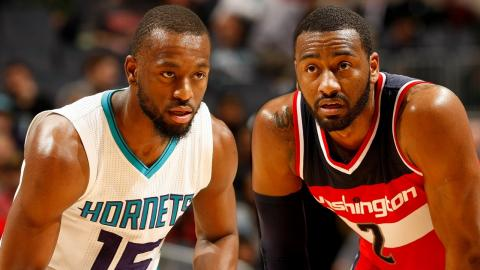 John Wall 24 Points, 7 Assists VS Kemba Walker 21 Points, 5 Assists | 01.23.17
