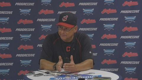 MIN@CLE: Francona on offensive outburst in 9-2 win