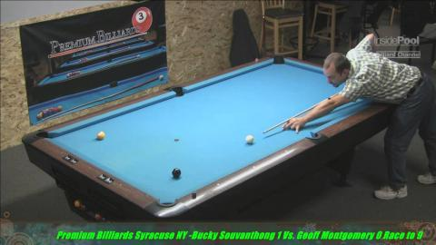Joss 9 Ball Tour 2015 Premium Billiards Bucky S Vs Jeff Montgomery