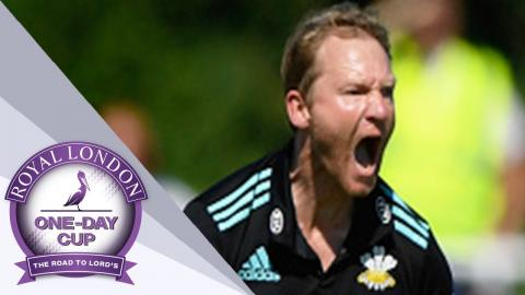 Great Batting And Gareth Batty Help Surrey Overpower Worcs - Royal London One-Day Cup SF 2017