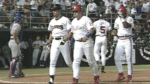 1992 ASG: Will Clark hits three-run homer in the 8th