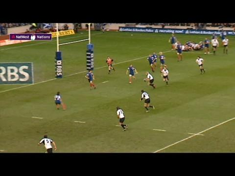 Sean Lamont scores as Scotland beat France! | NatWest 6 Nations