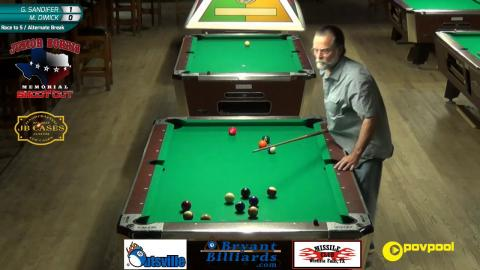 #11 - Mark DIMICK vs Greg SANDIFER - Norris 8-Ball • 2017