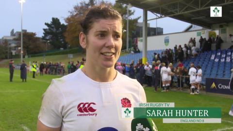 Irish Rugby TV: Sarah Hunter - Ireland Women 10 England Women 12