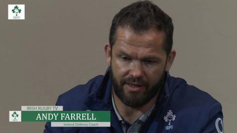 Irish Rugby TV: Ireland Captain's Run Press Conference