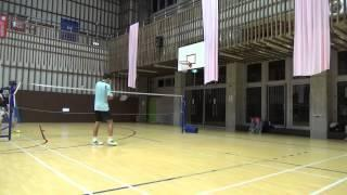 20150503FUMA Badminton Club MS施貴均vs HUNTER