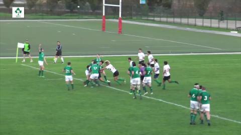 Irish Rugby TV: Ireland U18 Clubs v Portugal U18 - Try Highlights