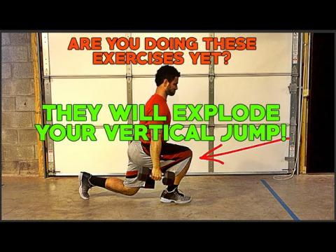 7 EXPLOSIVE Dumbbell Exercises To JUMP HIGHER! Increase Your Vertical Jump