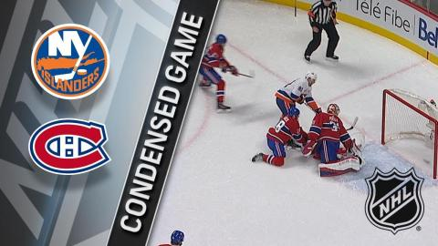 01/15/18 Condensed Game: Islanders @ Canadiens