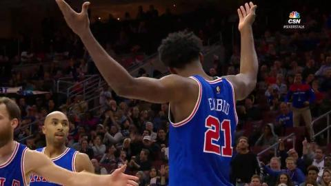 Joel Embiid Scores Career High 26 vs PHX l 11.19.16