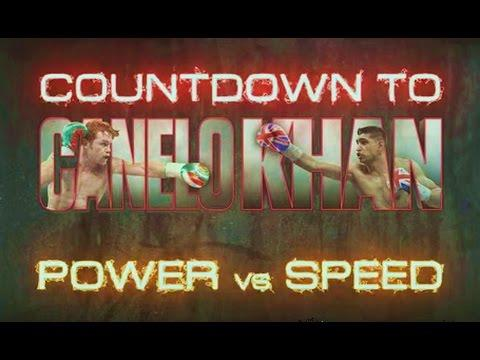 Canelo Alvarez vs Amir Khan Fight Countdown To Power vs Speed Preview Show !! HBO Boxing Review