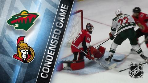 12/19/17 Condensed Game: Wild @ Senators