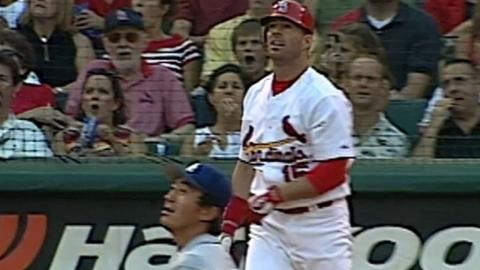 LAD@STL: Edmonds notches his 300th career home run