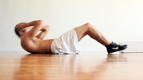 Sit Ups for Boxing