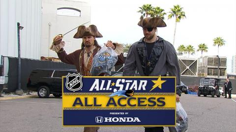 Behind the scenes at the 2018 NHL All-Star Weekend