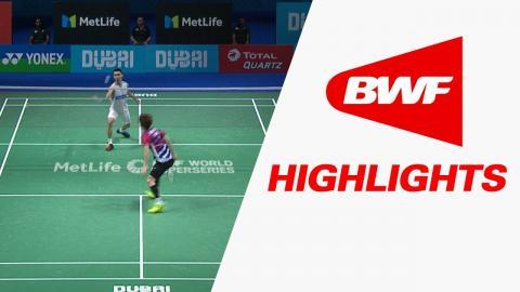 Dubai World Superseries Finals 2017 | Badminton Day 3 – Highlights