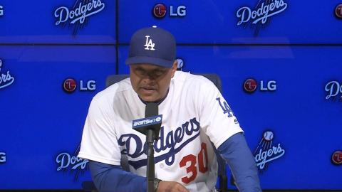 CIN@LAD: Roberts on Kazmir's outing in win vs. Reds