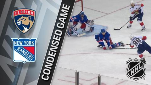 11/28/17 Condensed Game: Panthers @ Rangers