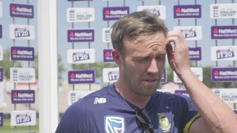 De Villiers 'excited' to lead T20 side