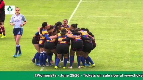 Irish Rugby TV: Women's 7s Dublin 2016